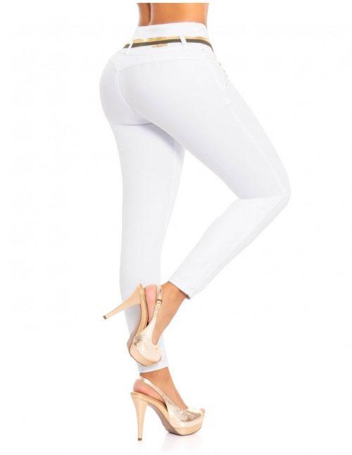 En nuestra colección encontrarás las tendencias de temporada más singulares de cada temporada: desde referencias clásicas, como el azul oscuro o celeste, hasta los jeans de colores, como el blanco, negro, rojo, fucsia, etc. ¡A qué esperas para conocer nuestra colección de jeans y pantalones colombianos. Además de levantar los glúteos y moldear las caderas, tienen otros beneficios que los hacen más atractivos del mercado: comprimen y controlan el abdomen, definen la cintura, dan forma a las caderas y piernas, y por su tejido especial, ayudan a ocultar la celulitis. Puedes comprar Pitbull, Factu Djeans, Fiara y Mara, Marcas originales de Jeans levanta cola Colombianos
