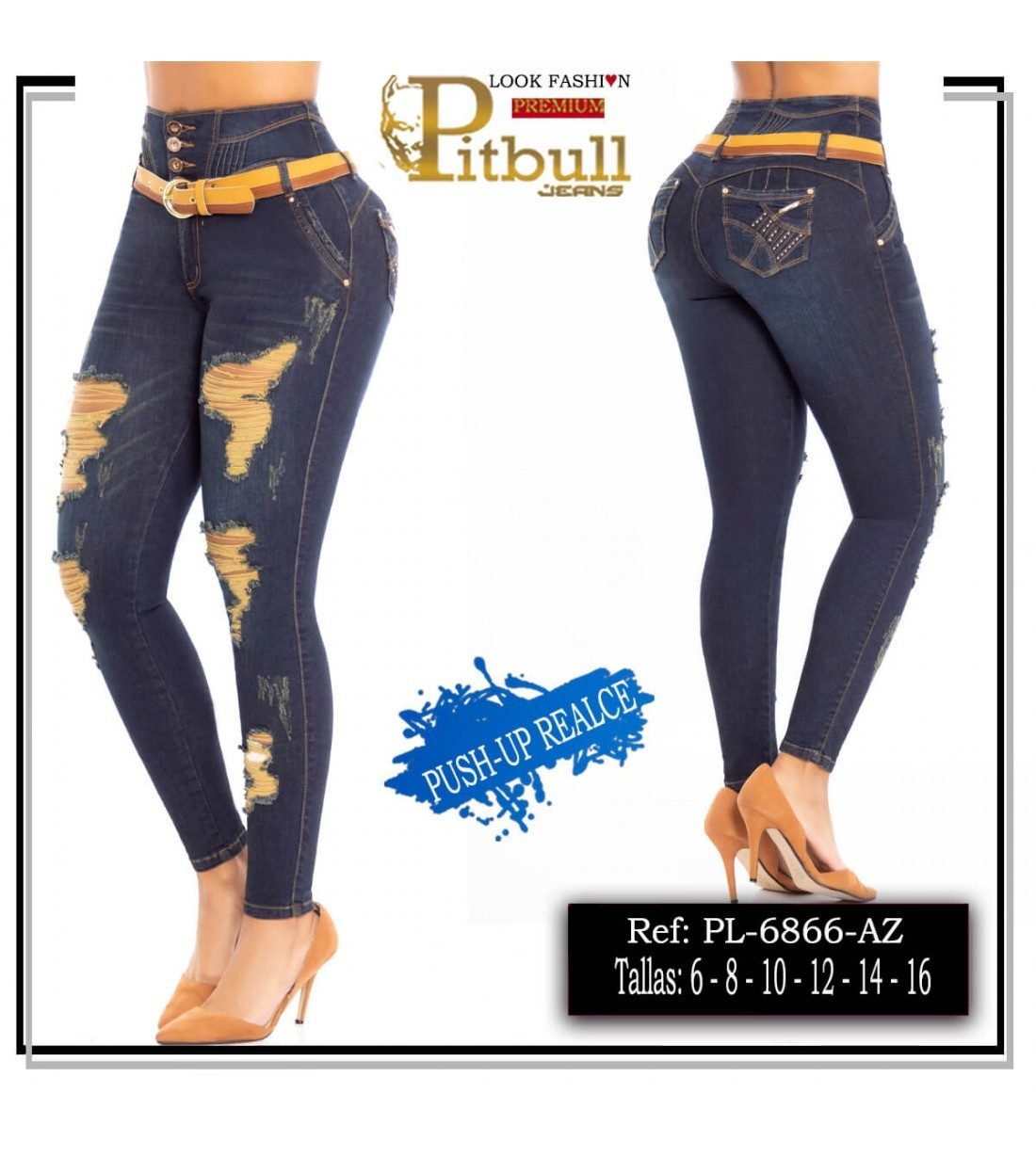 Pantalon Colombiano levanta cola Pitbull-6866