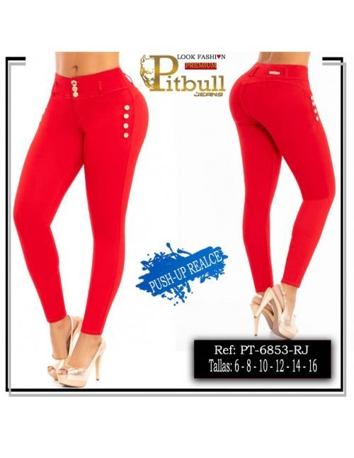 Pantalon Colombiano Pitbull Levanta cola 6853