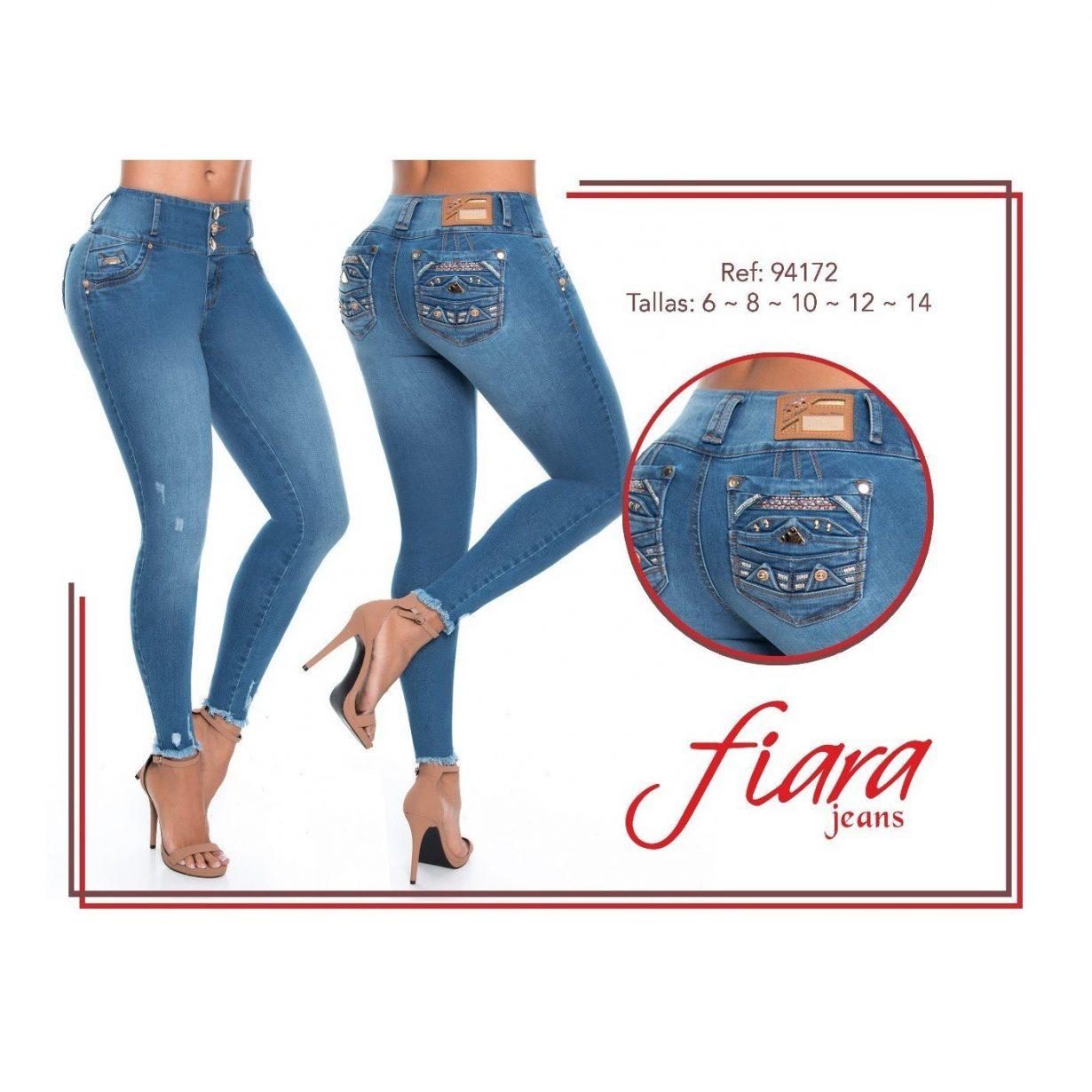 Pantalon Colombuano Fiara Jeans PA94172