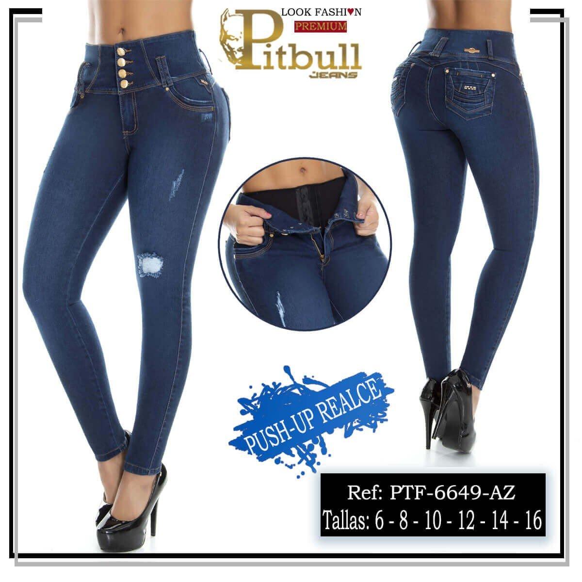 Pantalon con Faja en Cintura PTF6649