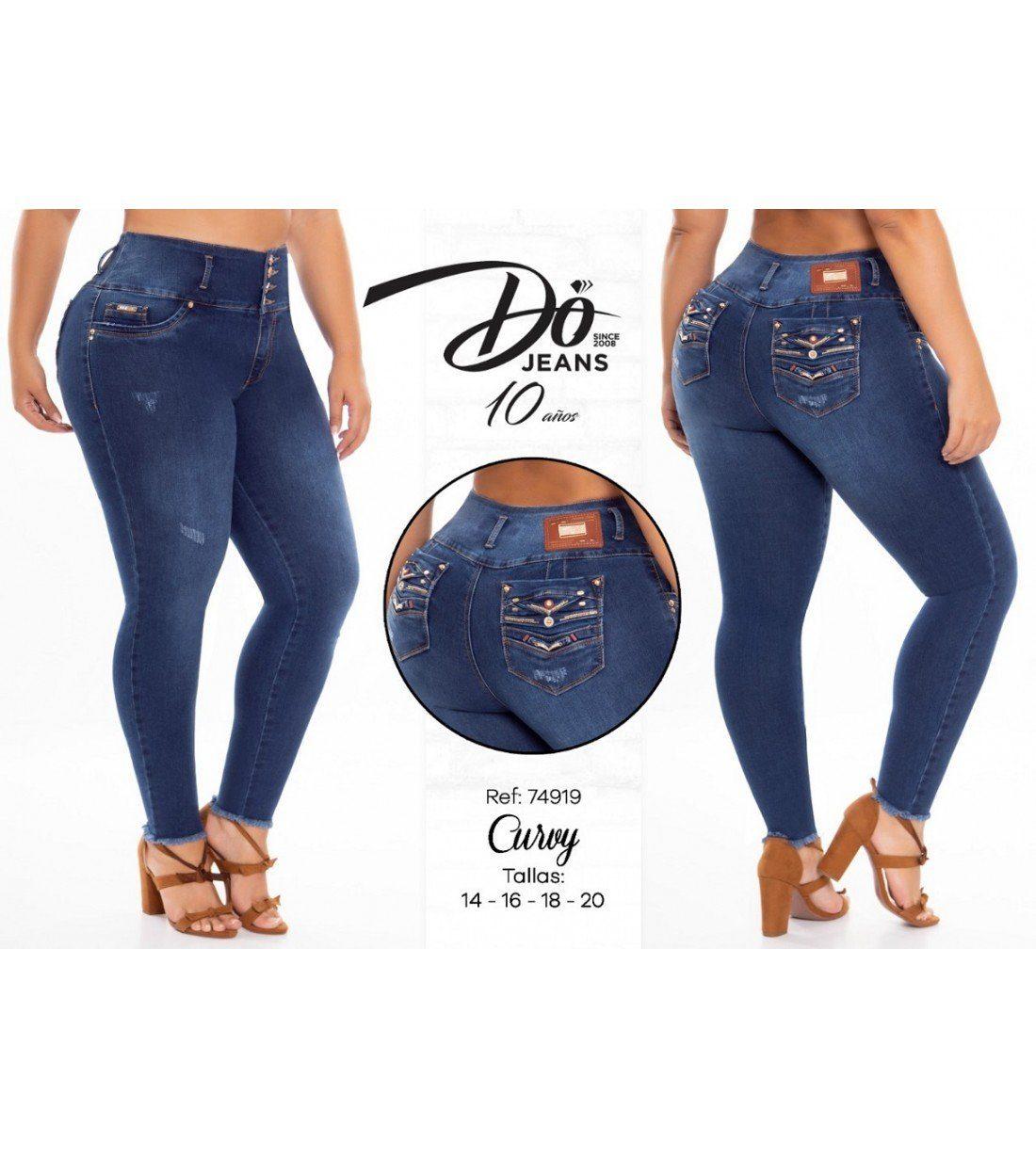 Pantalon Do Jeans Levanta cola 74919