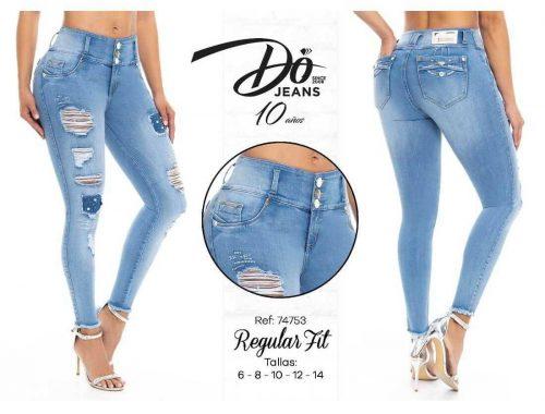 Pantalon Do Jeans levanta cola 74753