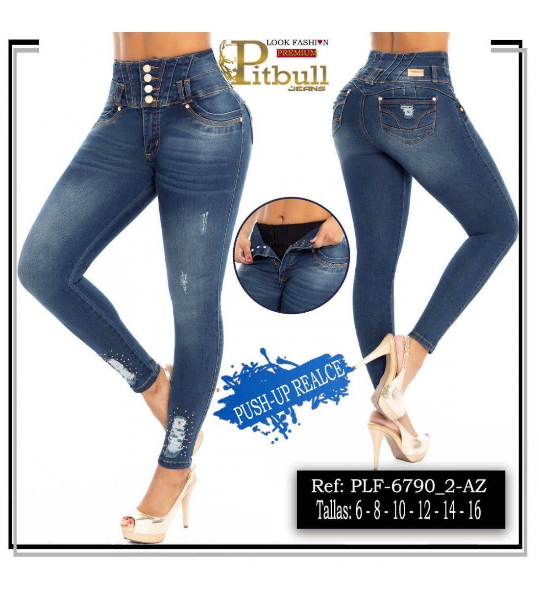 Pantalon con Faja en Cintura PLF6790_2