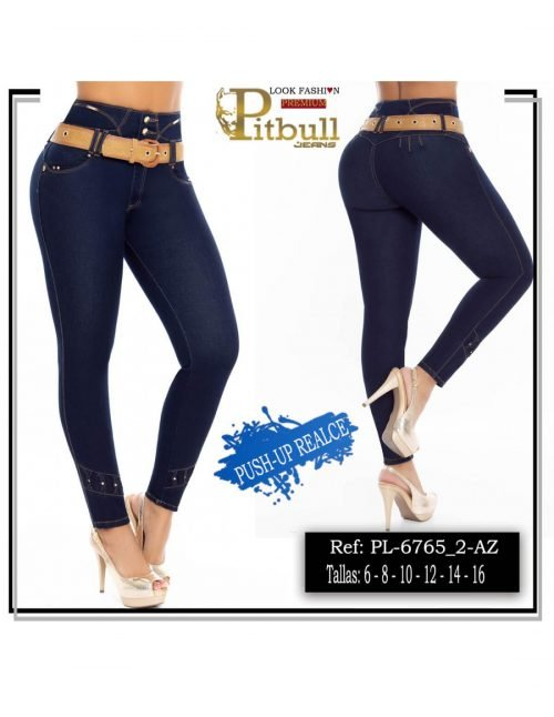 Pantalon Levanta cola Tiro Alto PL6765_2