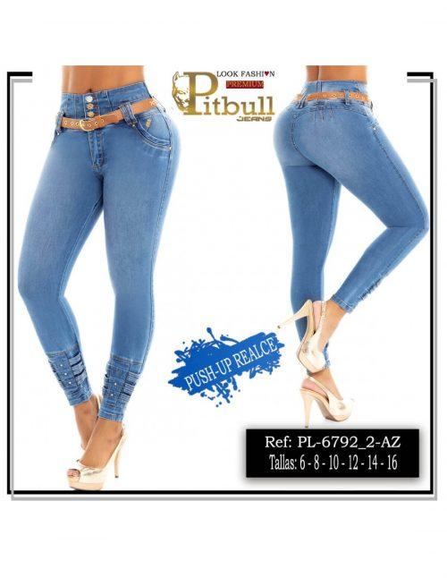 Pantalon Levanta cola Tiro Alto PL6792_2