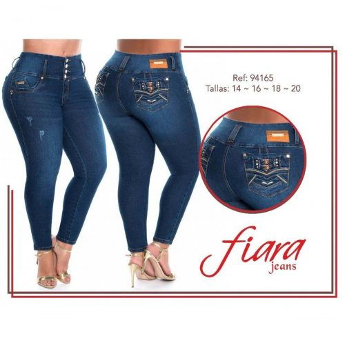 Pantalon Talla Grande Fiara Jeans 94165