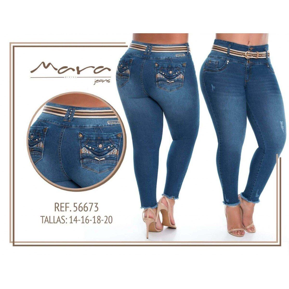 Pantalon Talla Grande Mara Jeans 56673