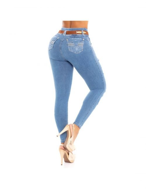 Pantalon colombiano levanta cola Pitbull