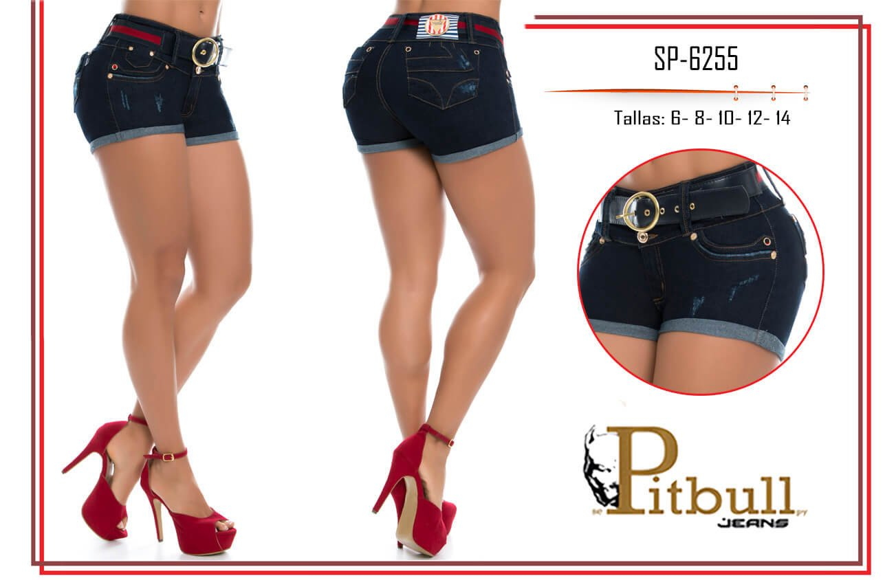 Short levanta cola colombiano SP6255