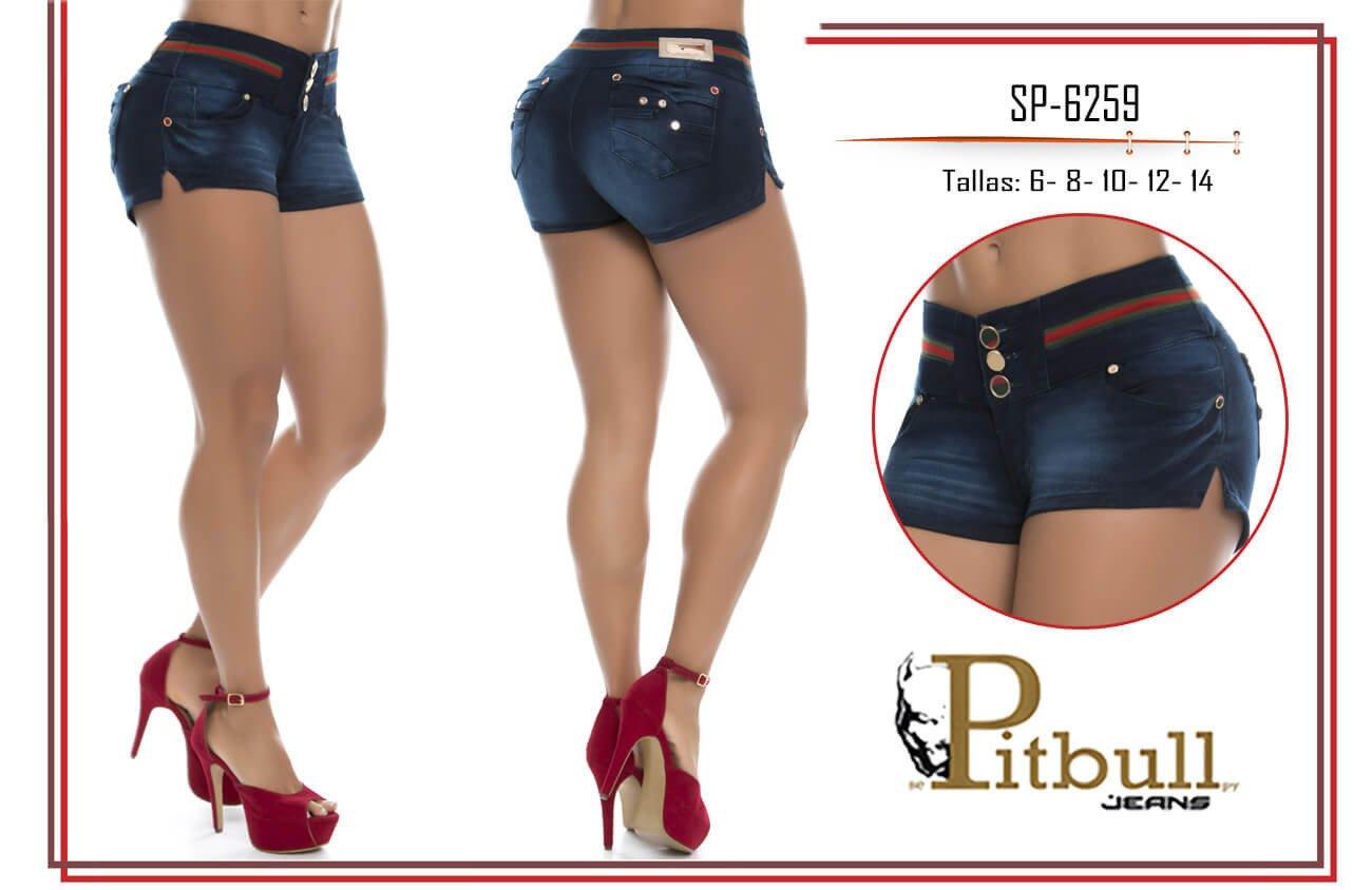 Short levanta cola colombiano SP6259