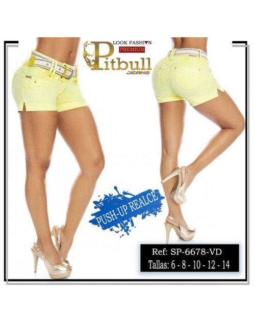 Short Colombiano Pitbull 6678