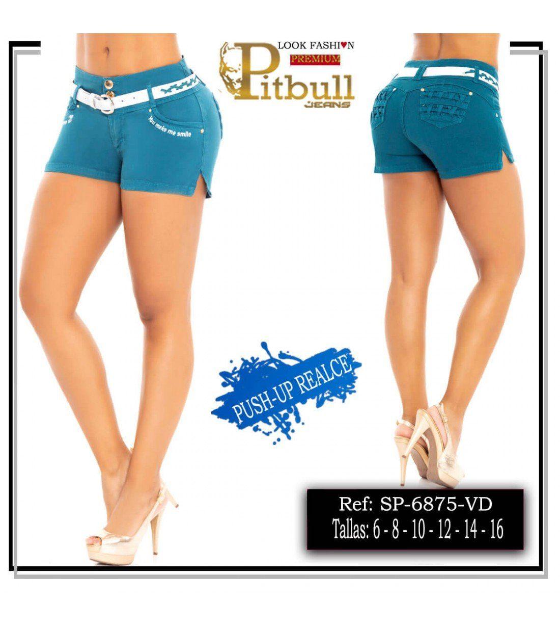 Short Colombiano Levanta cola 6875Short Colombiano Levanta cola 6875