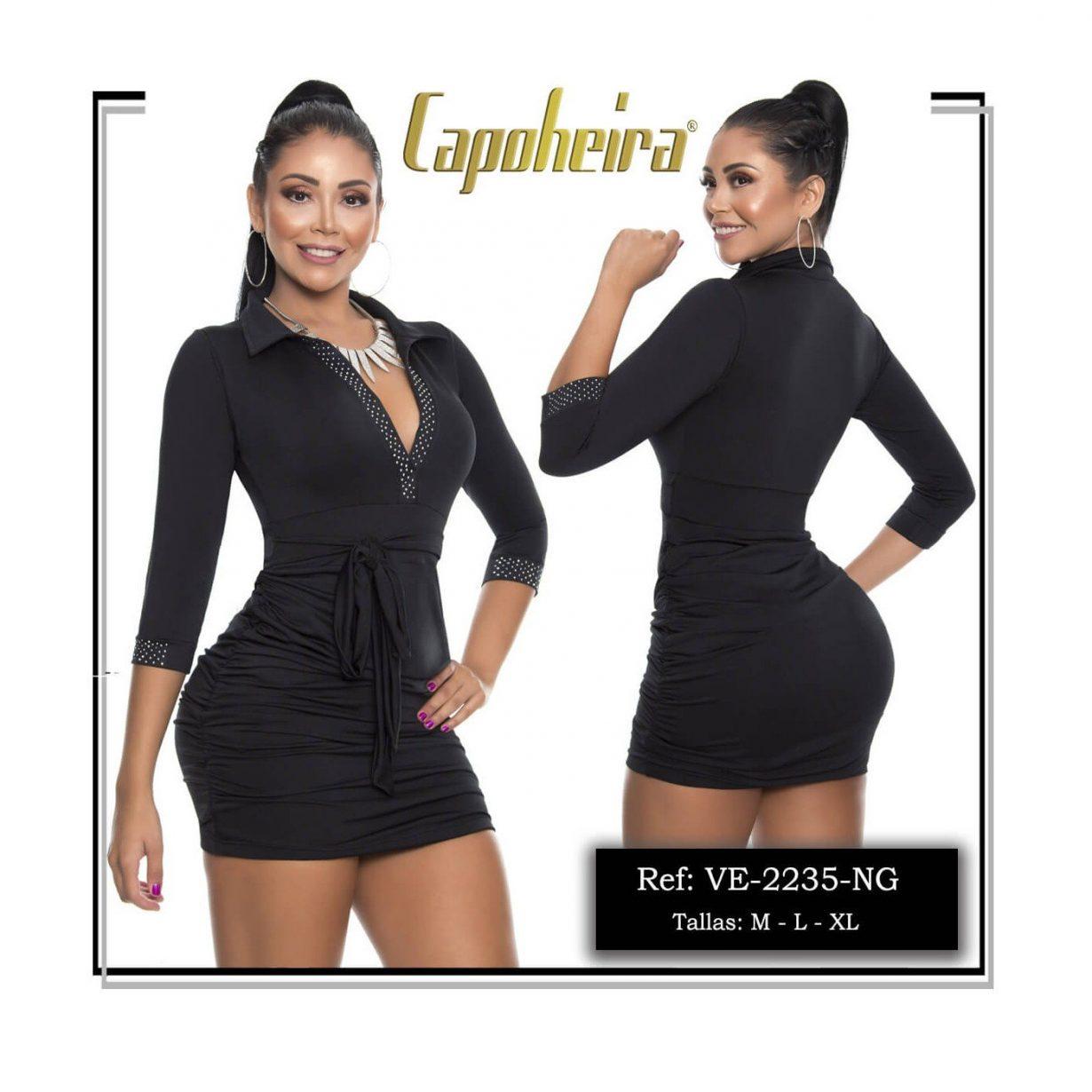Vestido Corto Colombiano Sexy VE2235