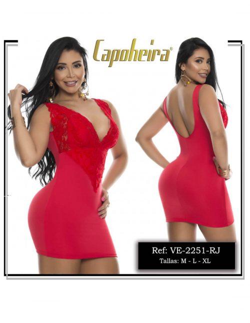 Vestido Colombiano Pitbull VE2251