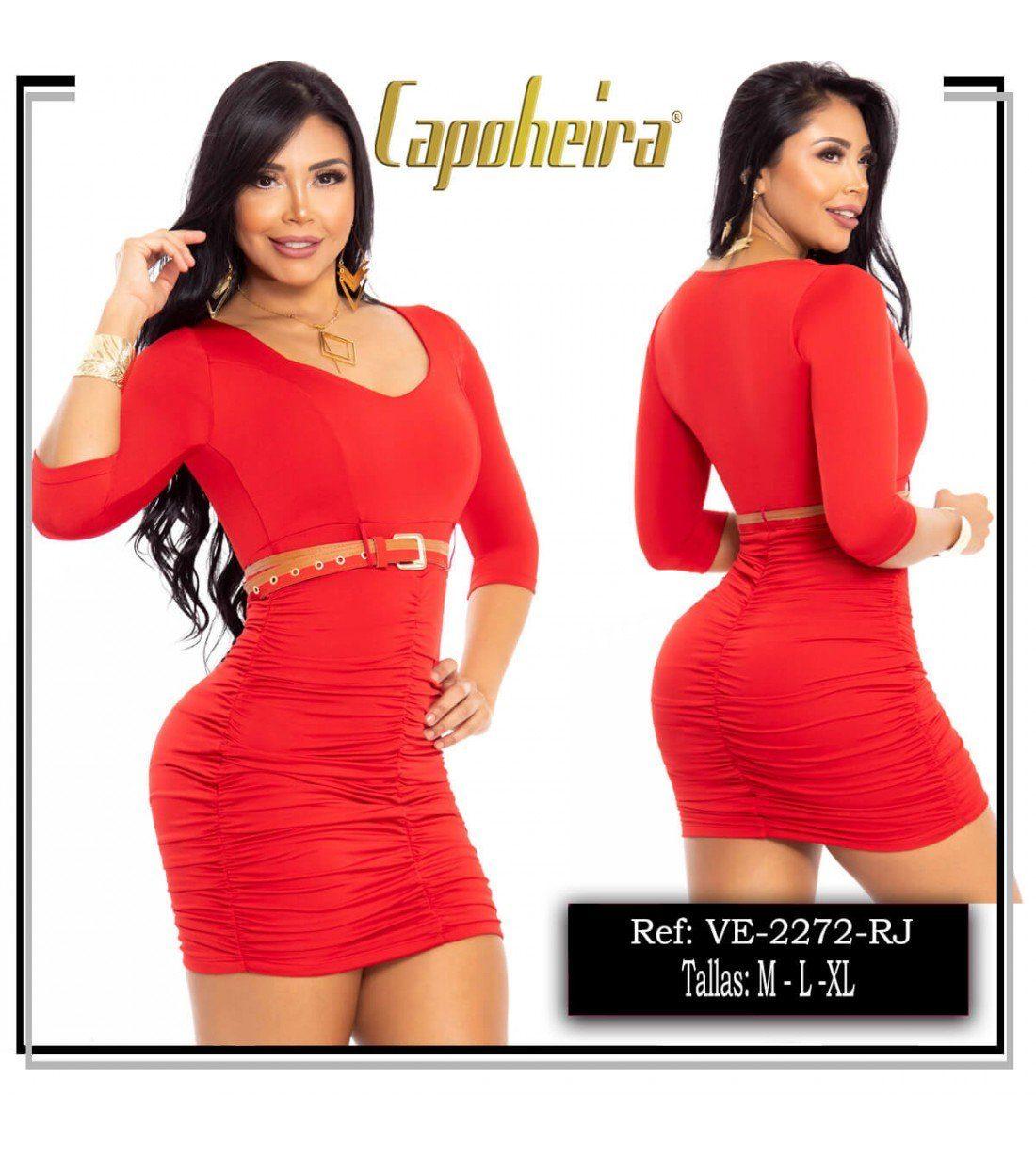Vestido Colombiano Pitbull 2272