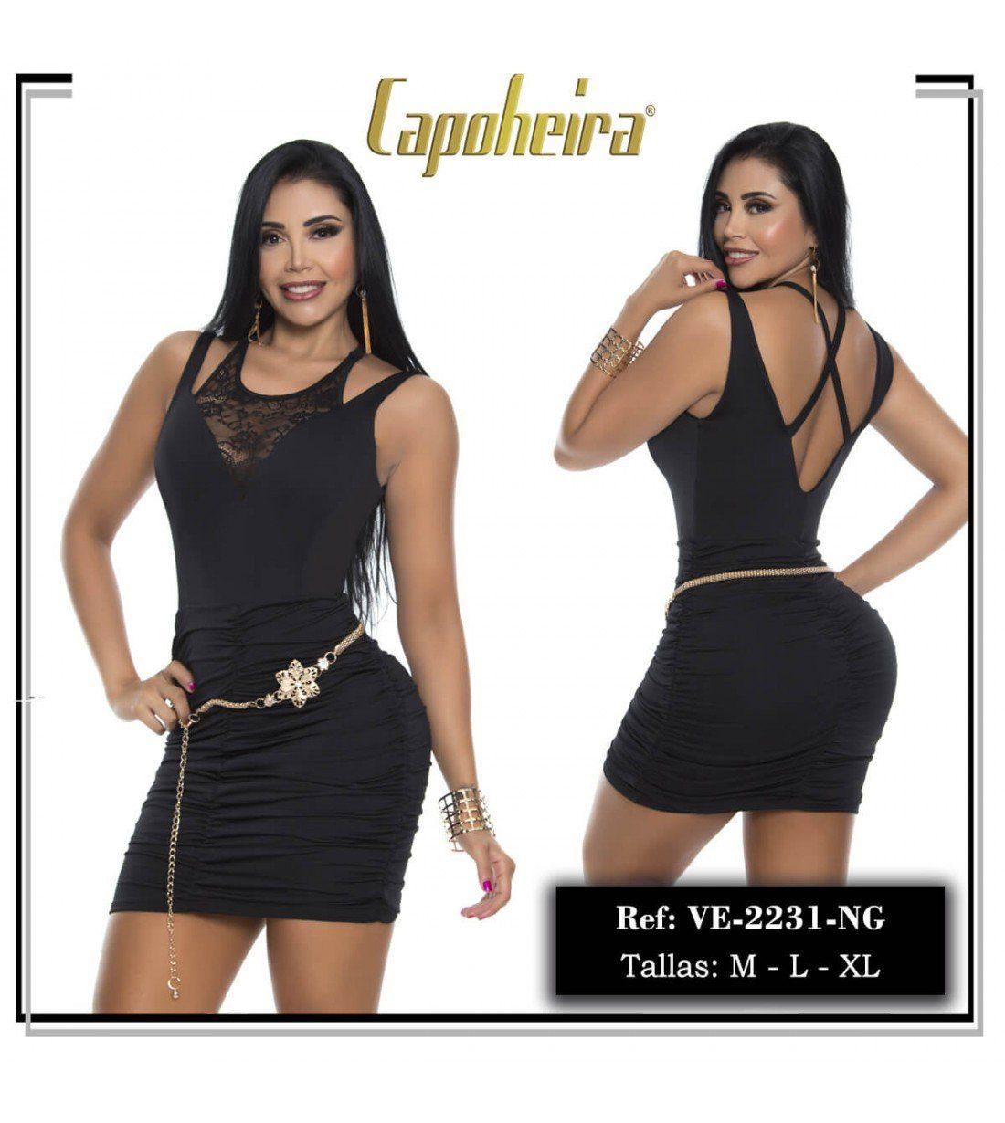 Vestido colombiano muy sexy para lucir cuerpazo.
