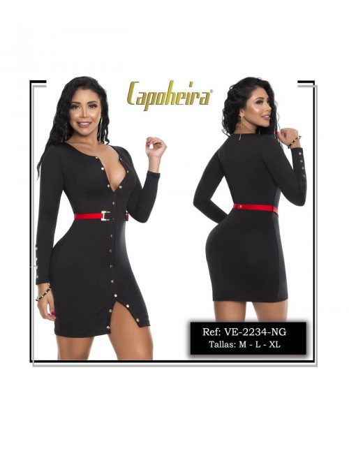 Vestido Sexy Capoheira & Pitbull VE2234