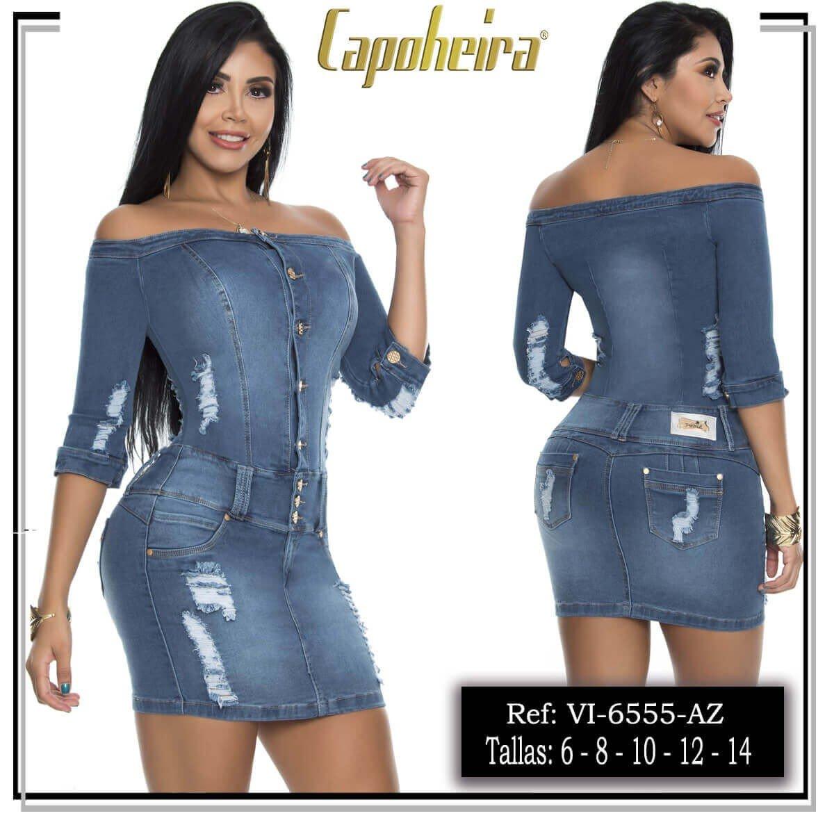 Vestido Vaquero Pitbull VI6555